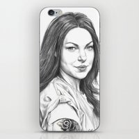 alex vause iPhone & iPod Skins featuring Alex Vause by petitehoneybee