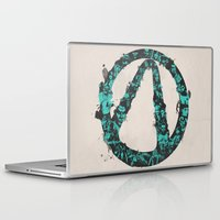 borderlands Laptop & iPad Skins featuring Borderlands 2 by Bill Pyle