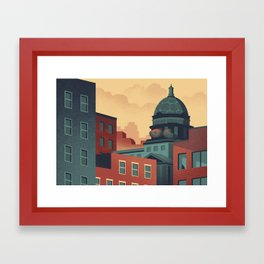Urban Wildlife - Turtle Framed Art Print