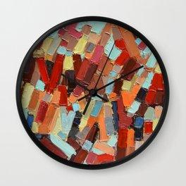 Internodes No. 2 Wall Clock