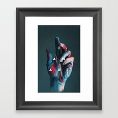 I AM ART Framed Art Print