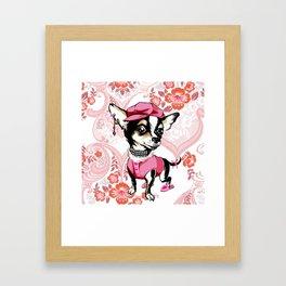 doggy style Framed Art Print