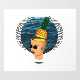 Summer mind Art Print