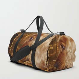 Dog Cocker Spaniel Duffle Bag