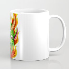Third Eye Fire Demon Coffee Mug
