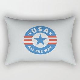 USA ALL THE WAY Rectangular Pillow