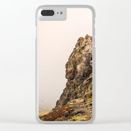 Behind The Clouds Clear iPhone Case