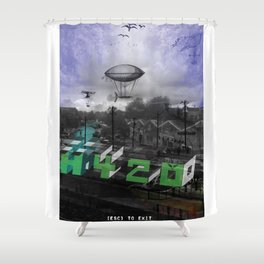 H420 Shower Curtain