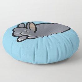 Netherland Dwarf Bunny Loaf Floor Pillow