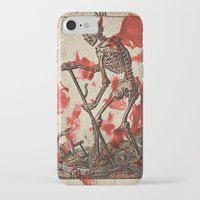 tarot iPhone & iPod Cases featuring Death Tarot by Bedlam Supply Co.