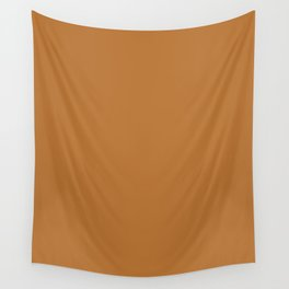 Copper Brown Wall Tapestry