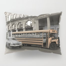 Havana School Bus Pillow Sham