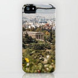 Temple of Hephaestus, Athens, Greece iPhone Case