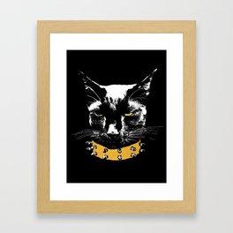 King Misiu Framed Art Print