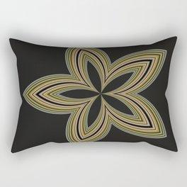Fractal Star Aura in CMR 01 Rectangular Pillow