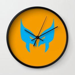 Wolverine Mask Wall Clock