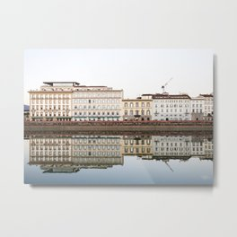 Florence Reflection / Italy - travel photography Metal Print
