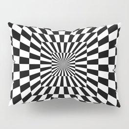 Optical Illusion Hallway Pillow Sham