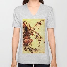 Witch tangled in the briar patch Unisex V-Neck