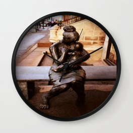 Mother & Child Wall Clock