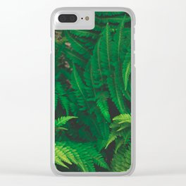 Leaf jungle Clear iPhone Case
