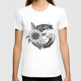 Earth, Sea & Space T-shirt