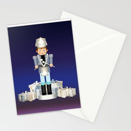 Little Drummer Boy on Christmas Eve Stationery Cards
