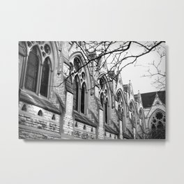 B&W Church Photography Metal Print
