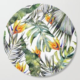 TROPICAL GARDEN Cutting Board