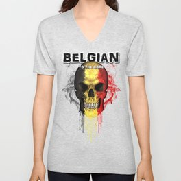 To The Core Collection: Belgium Unisex V-Neck