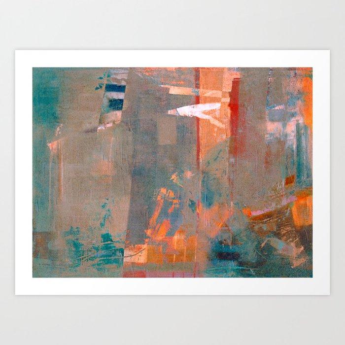 Lezioni del Piano Art Print