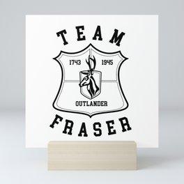 TEAM FRASER Mini Art Print