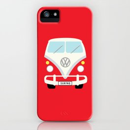 Surf's Up Minimal Bus iPhone Case