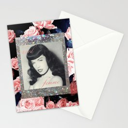 Bettie - Hard Femme - Page  Stationery Cards