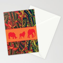 African Tribal Pattern No. 16 Stationery Cards