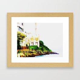 Prison Island Framed Art Print