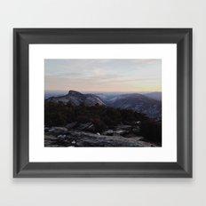 Linville Gorge Winter Framed Art Print