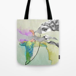 Ghost in the Stone #3 Tote Bag