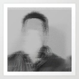 Mind Went Blank Art Print