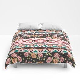 Floral Aztec Tribals Comforters