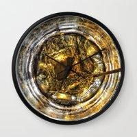 coke Wall Clocks featuring -JACK & COKE- by GIANTimagery
