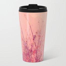Lost in Pink (Carmine Pink Botanic Garden) Travel Mug