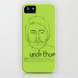 Uncle Thom iPhone Case