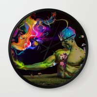 alchemy Wall Clocks featuring Alchemy Resonance by Archan Nair