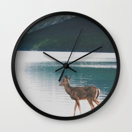 Bowman Lake Visitor Wall Clock