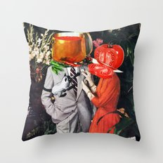 Hot Couple Throw Pillow