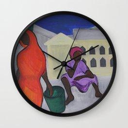Dadas at the Market Wall Clock
