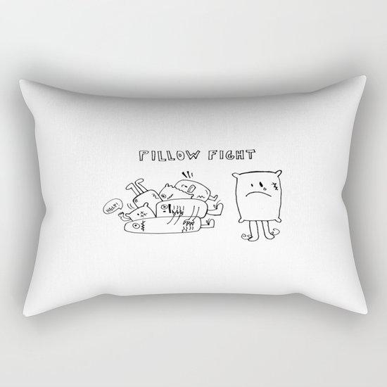 Pillow fight Rectangular Pillow