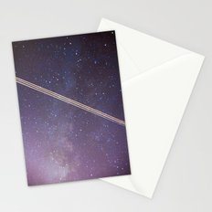 Boeing through the Milky Way Stationery Cards