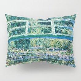 Claude Monet - Water Lilies And Japanese Bridge Pillow Sham